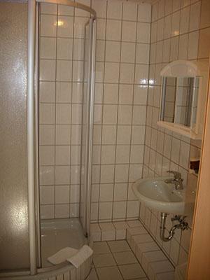 Pension Am Wachtelberg Badezimmer