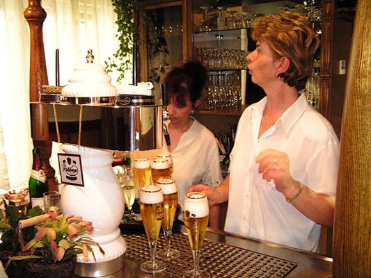 Gasthaus Am Wachtelberg - Tresen