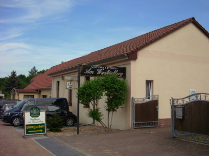 Gasthaus Am Wachtelberg Eingang Biergarten