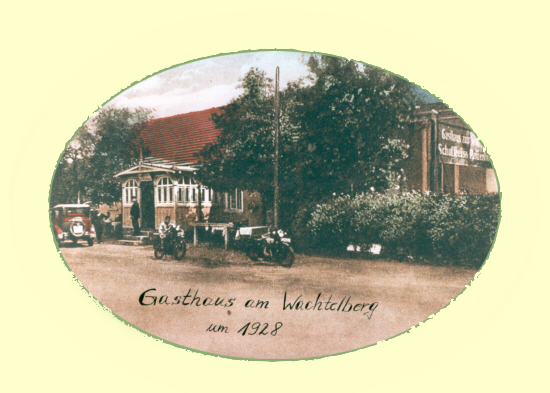 Gesamtbild Gasthaus Wachtelberg 1928
