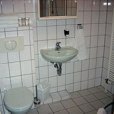 Pension Am Wachtelberg Badzimmer