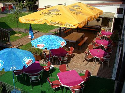 Gasthaus Am Wachtelberg Biergarten